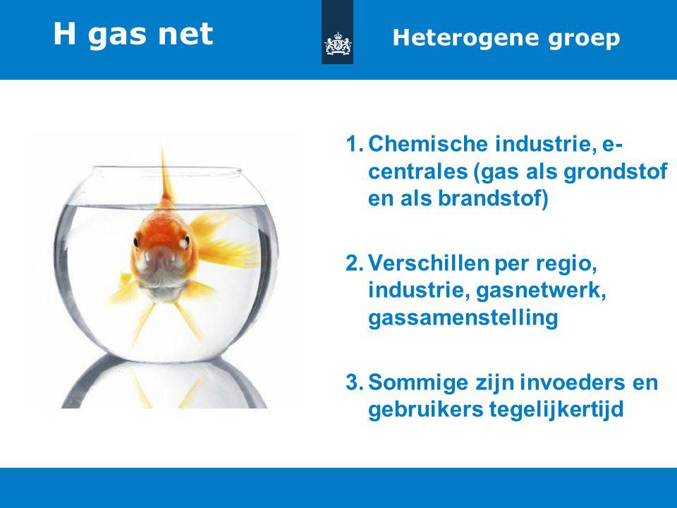 H gas net Heterogene groep