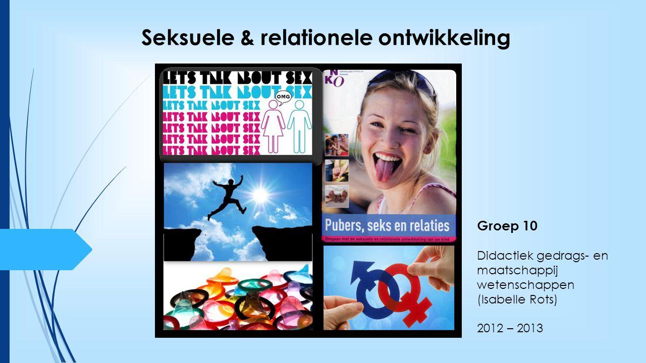 Seksuele & relationele ontwikkeling