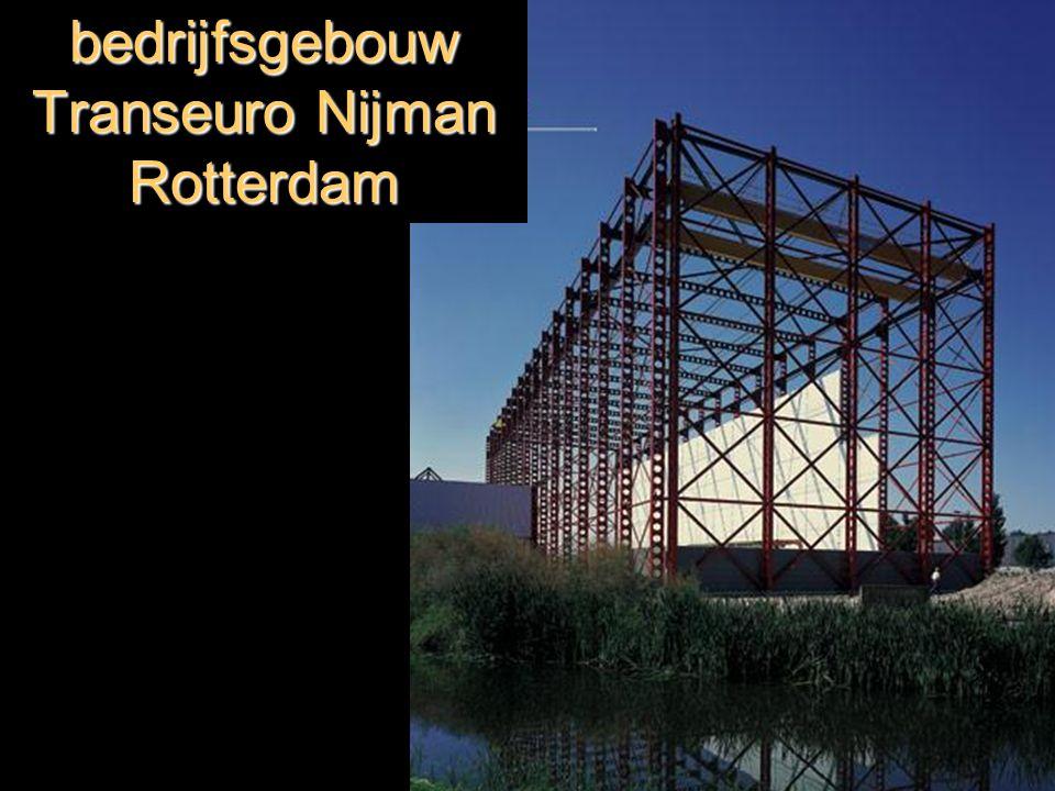 bedrijfsgebouw Transeuro Nijman Rotterdam