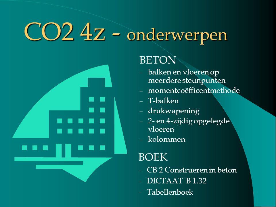 CO2 4z - onderwerpen BETON BOEK