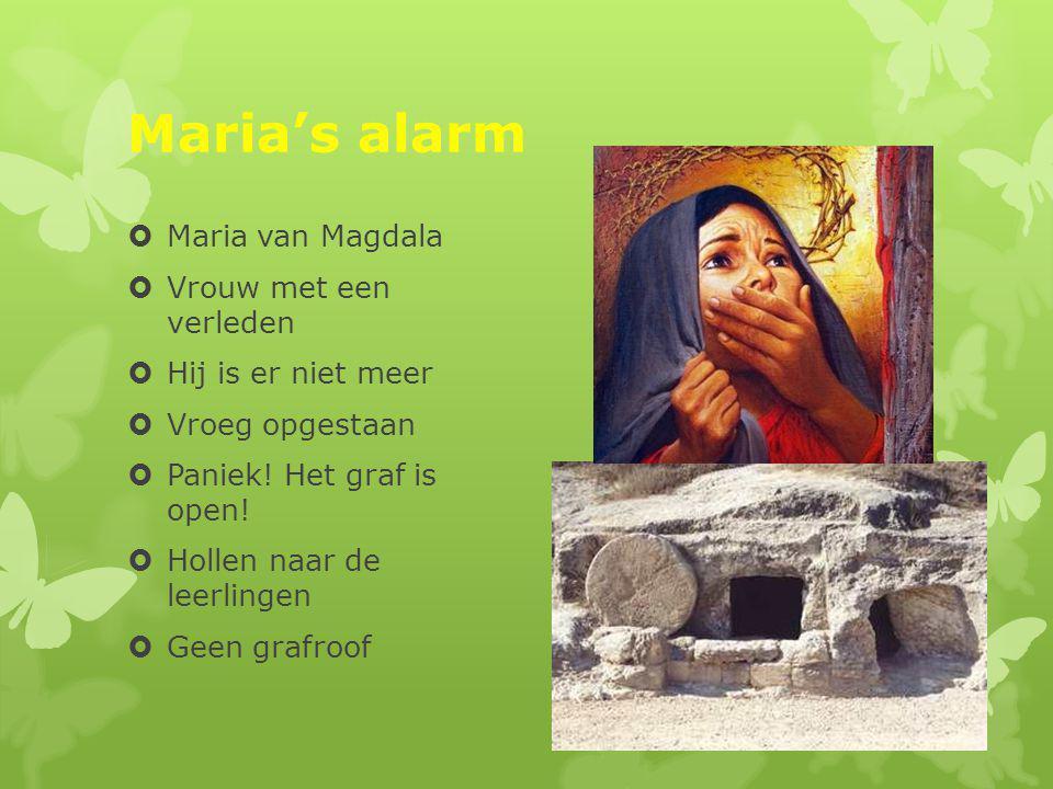Maria's alarm Maria van Magdala Vrouw met een verleden