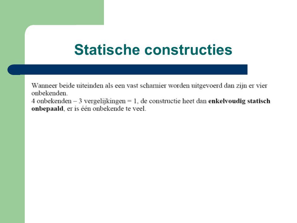 Statische constructies