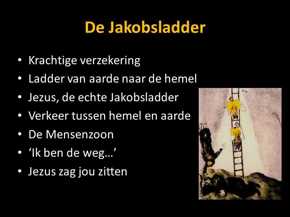 De Jakobsladder Krachtige verzekering Ladder van aarde naar de hemel