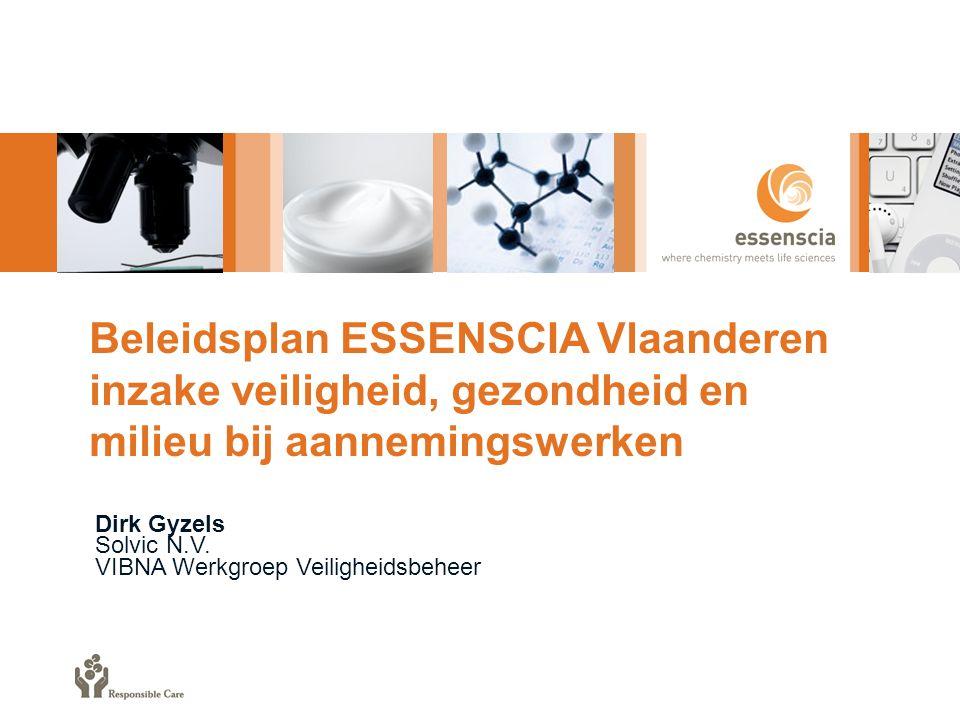 Beleidsplan ESSENSCIA Vlaanderen inzake veiligheid, gezondheid en milieu bij aannemingswerken
