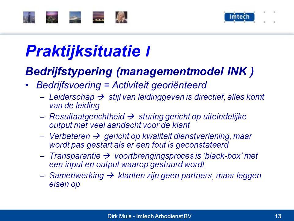 Dirk Muis - Imtech Arbodienst BV