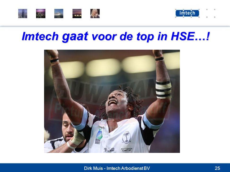 Imtech gaat voor de top in HSE…!