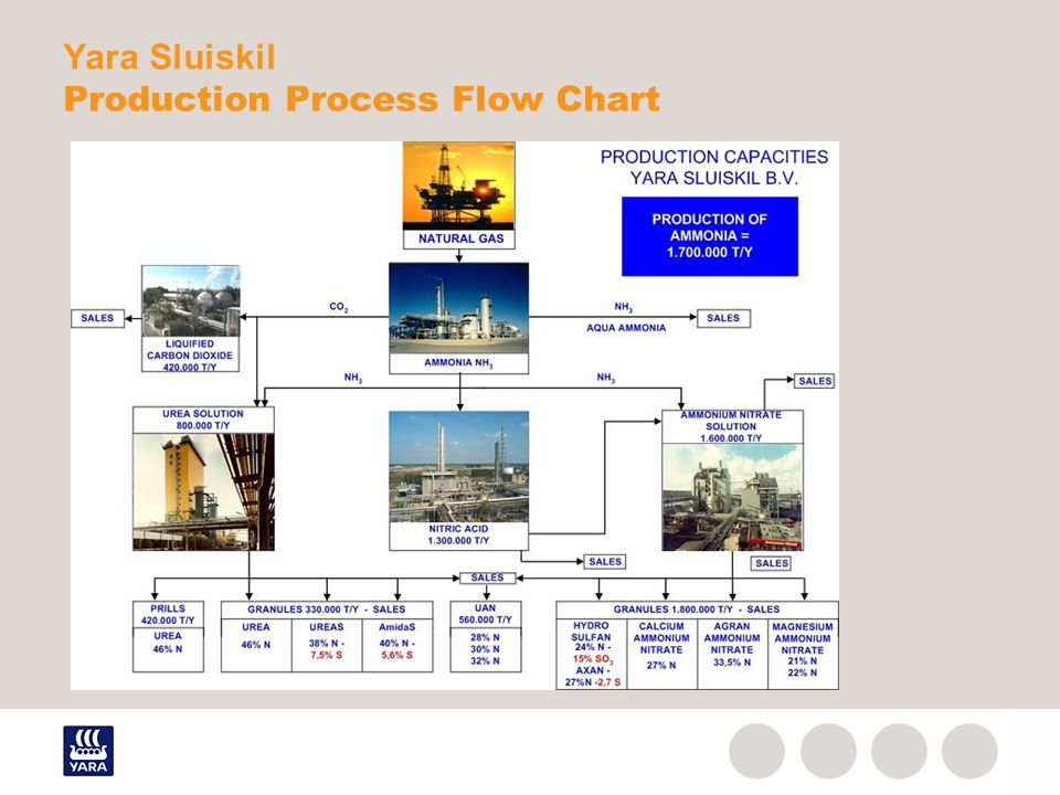 Yara Sluiskil Production Process Flow Chart