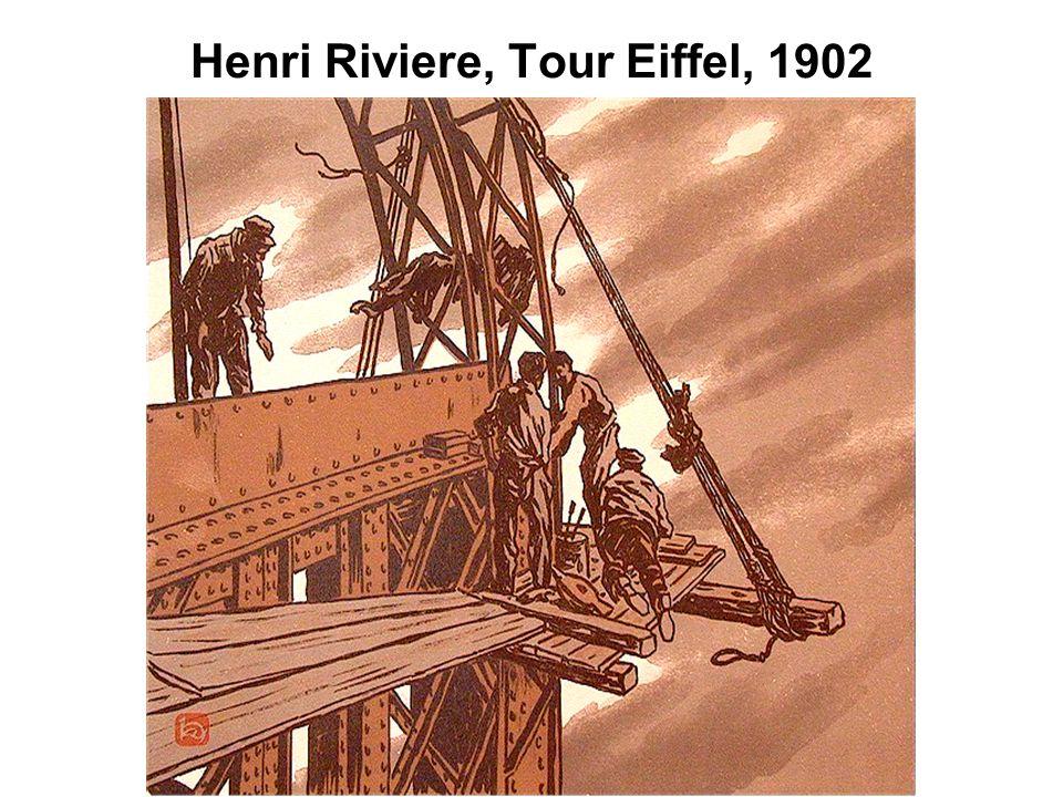 Henri Riviere, Tour Eiffel, 1902