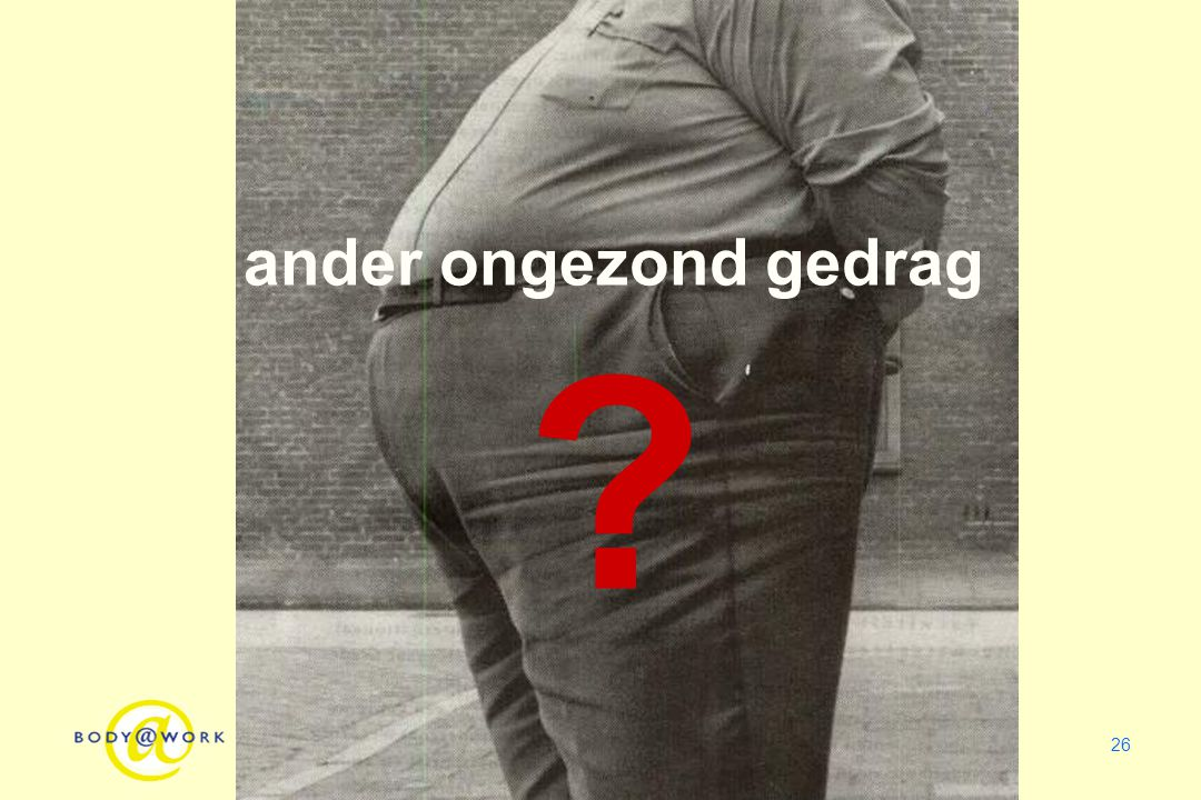 ander ongezond gedrag