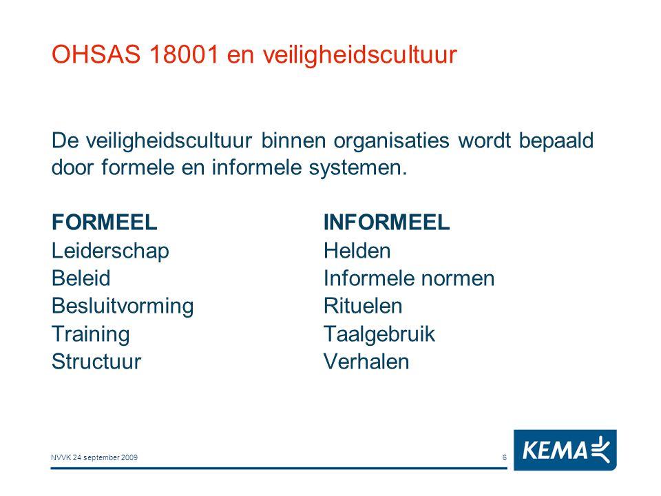 OHSAS 18001 en veiligheidscultuur
