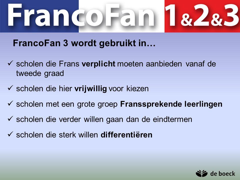 FrancoFan 3 wordt gebruikt in…