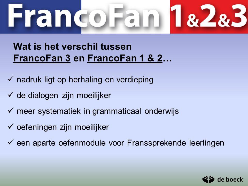 Wat is het verschil tussen FrancoFan 3 en FrancoFan 1 & 2…