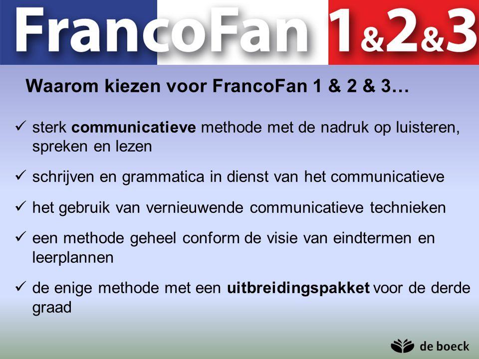 Waarom kiezen voor FrancoFan 1 & 2 & 3…