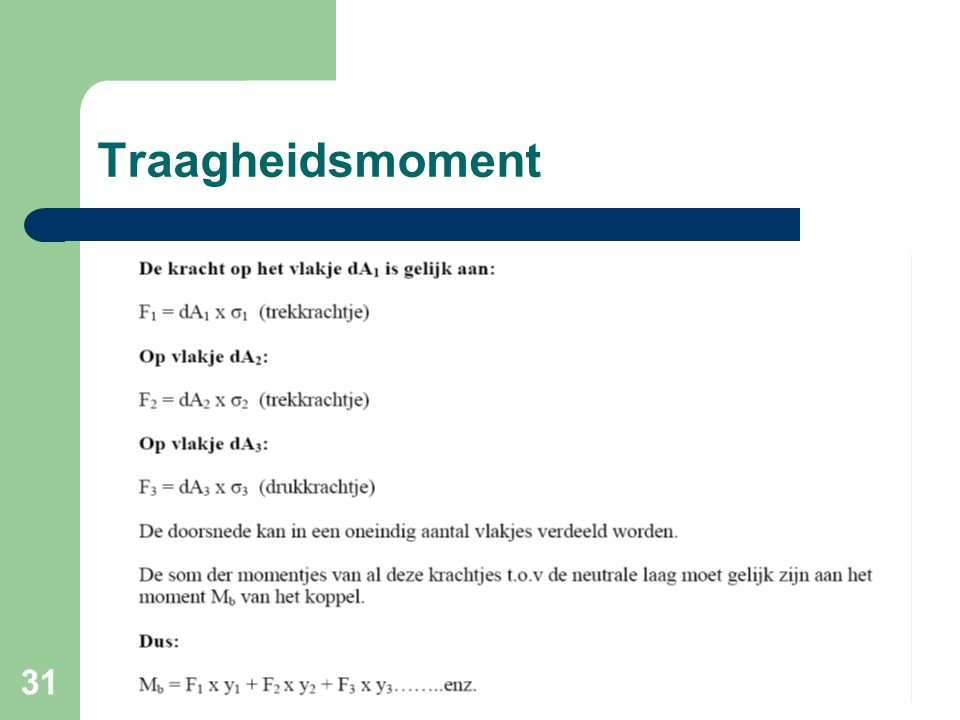 Traagheidsmoment
