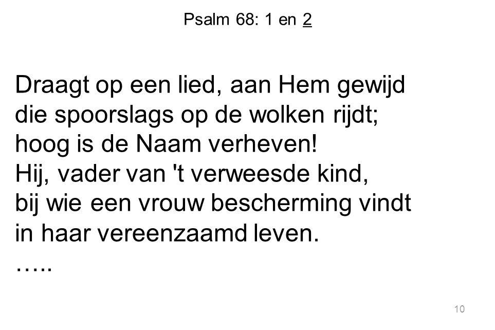 Psalm 68: 1 en 2