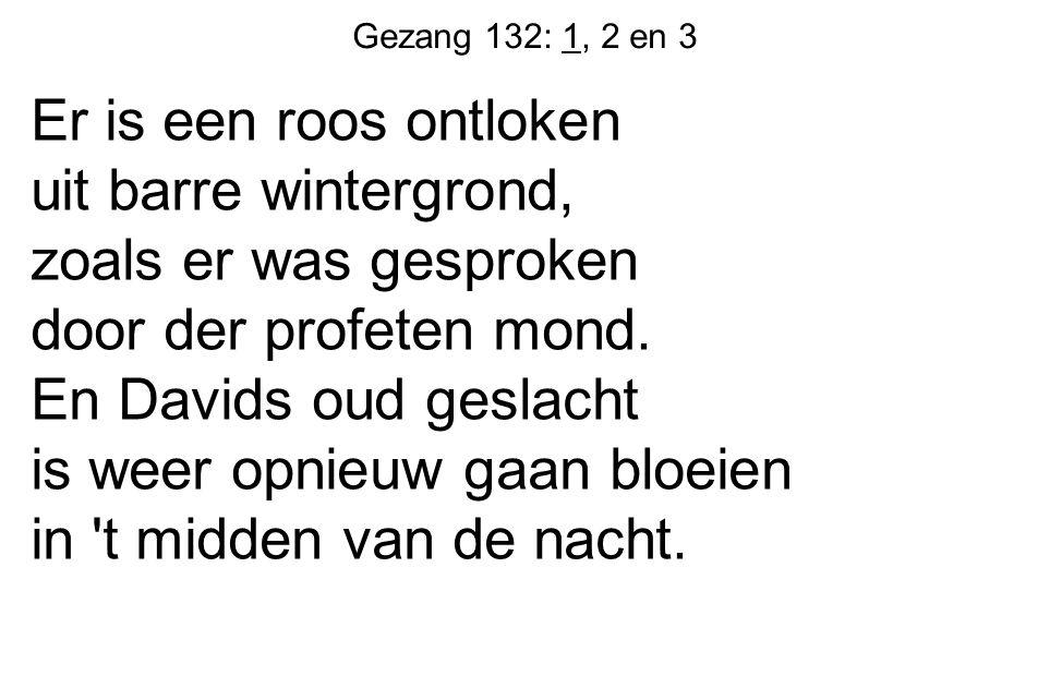 Gezang 132: 1, 2 en 3