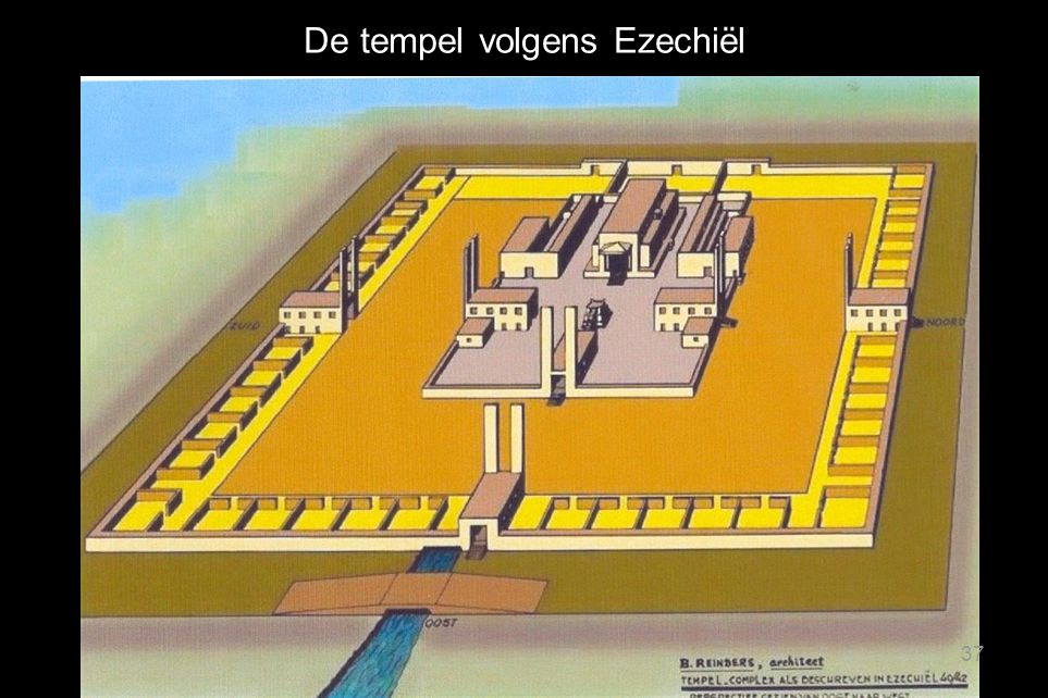 De tempel volgens Ezechiël