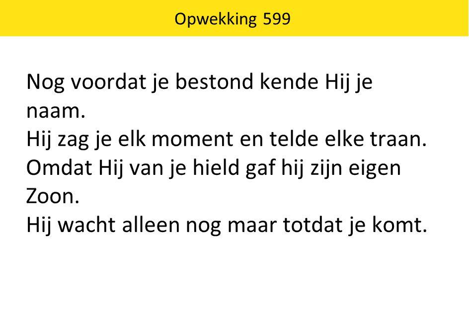 Opwekking 599
