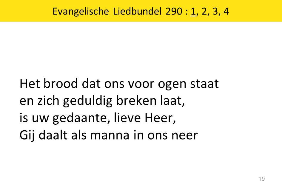 Evangelische Liedbundel 290 : 1, 2, 3, 4