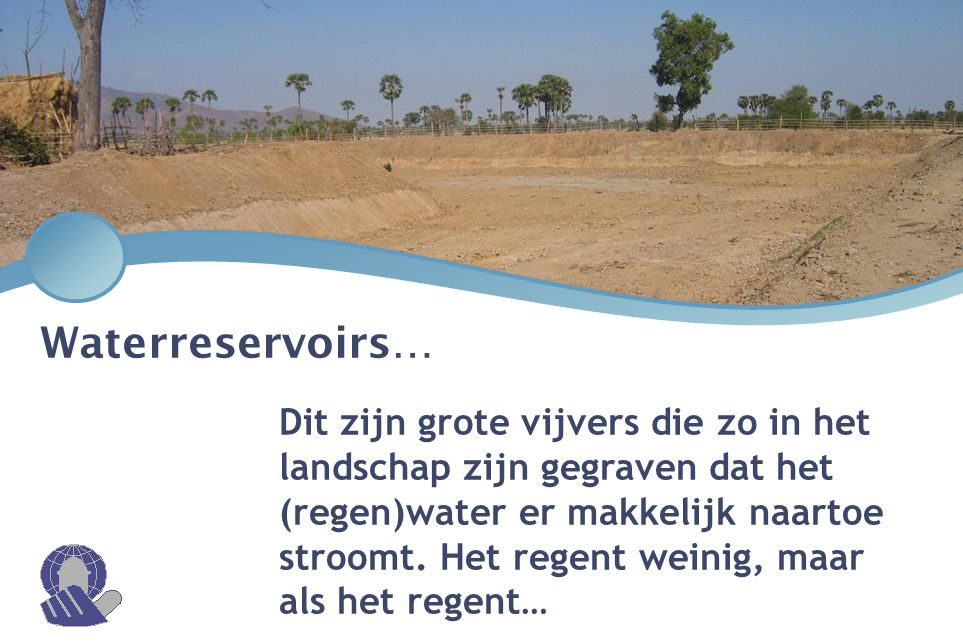 Waterreservoirs…