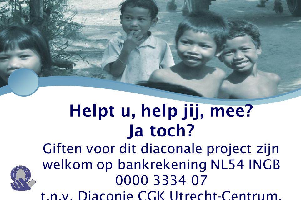 t.n.v. Diaconie CGK Utrecht-Centrum.