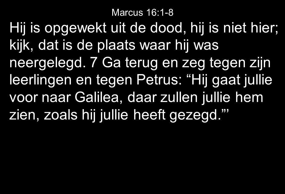 Marcus 16:1-8