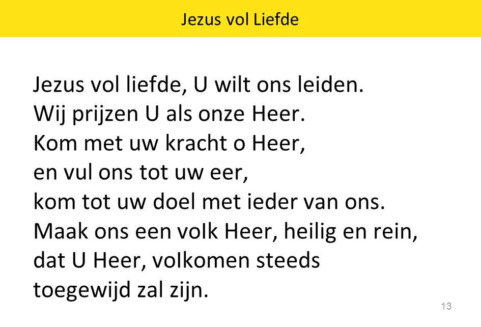 Jezus vol Liefde