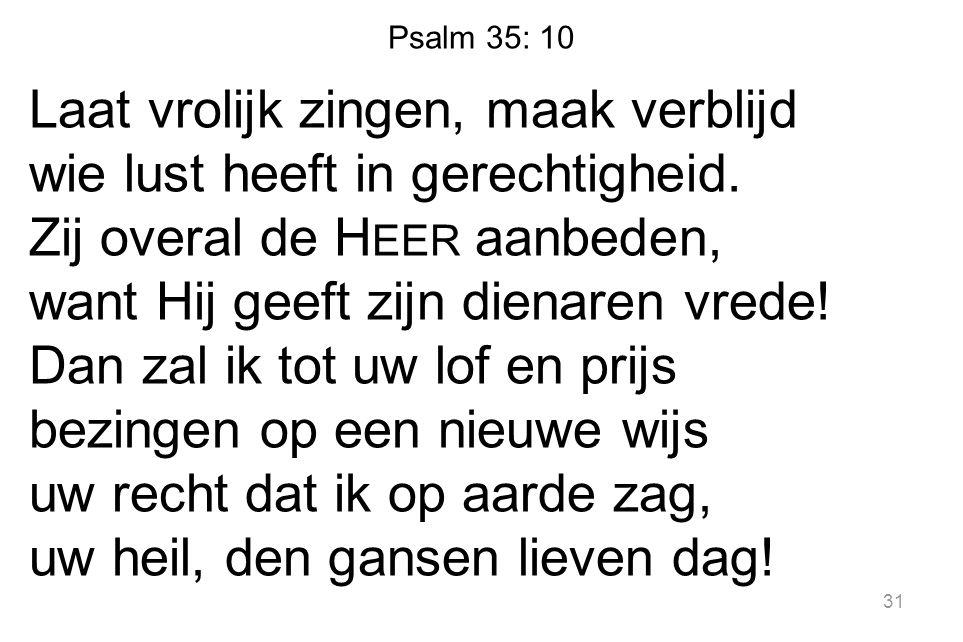 Psalm 35: 10