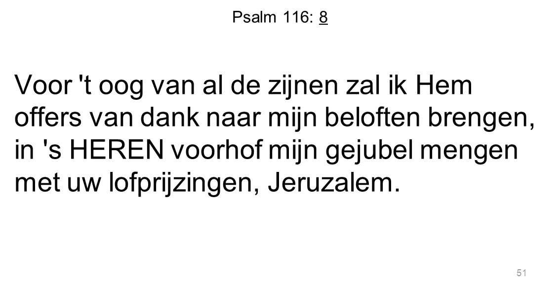 Psalm 116: 8