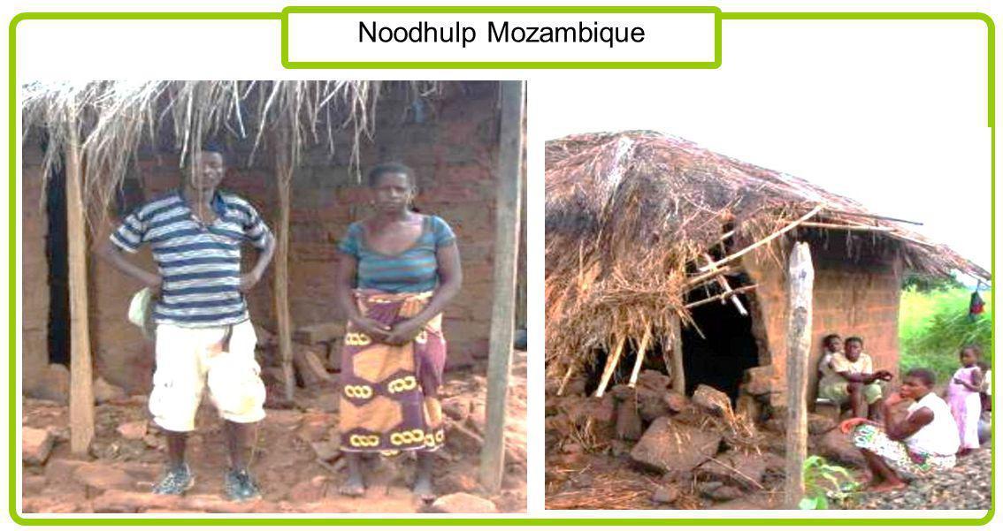 Noodhulp Mozambique .