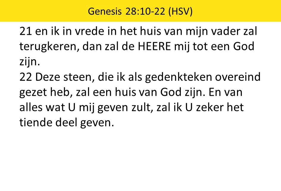 Genesis 28:10-22 (HSV)