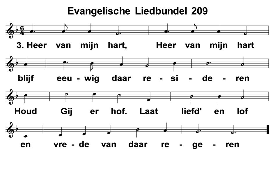Evangelische Liedbundel 209