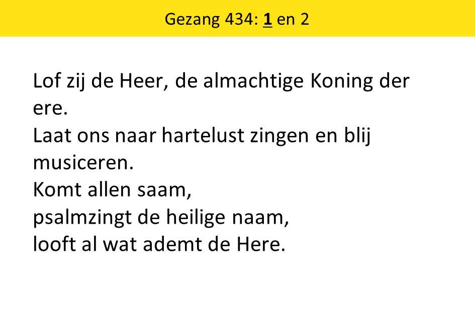 Gezang 434: 1 en 2
