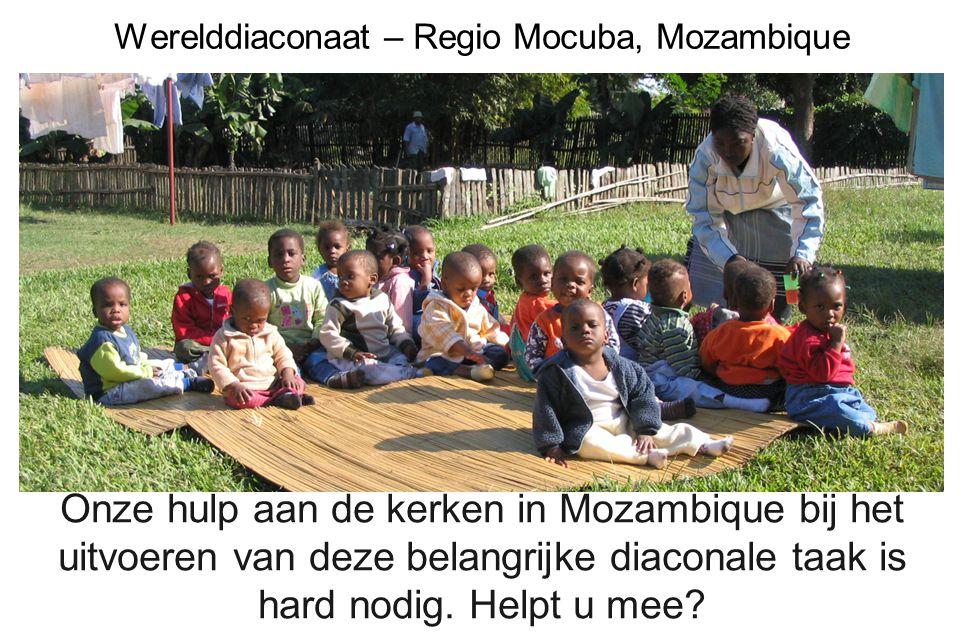 Werelddiaconaat – Regio Mocuba, Mozambique