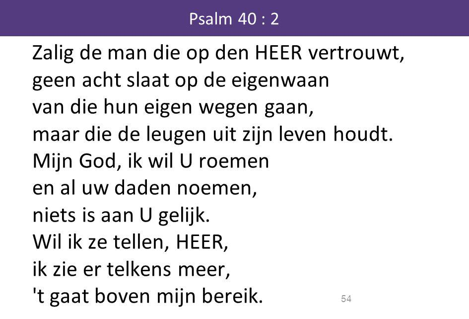 Psalm 40 : 2
