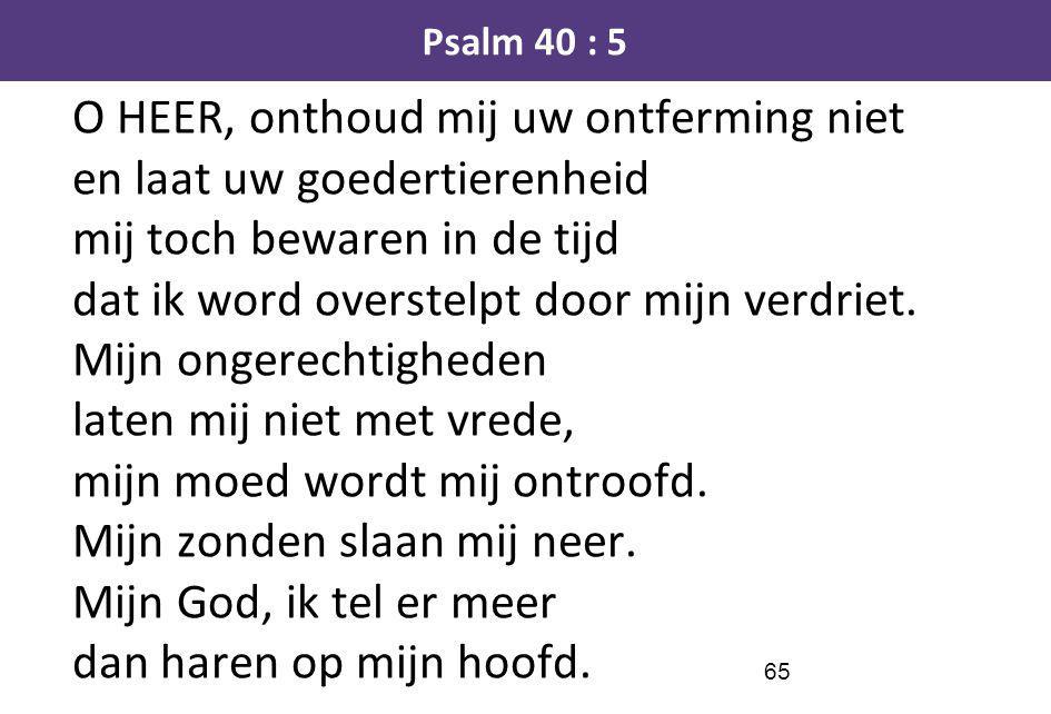 Psalm 40 : 5