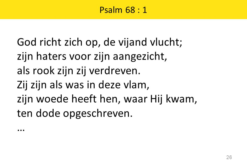 Psalm 68 : 1