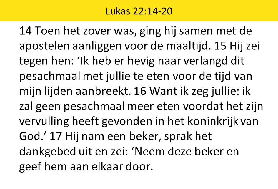 Lukas 22:14-20