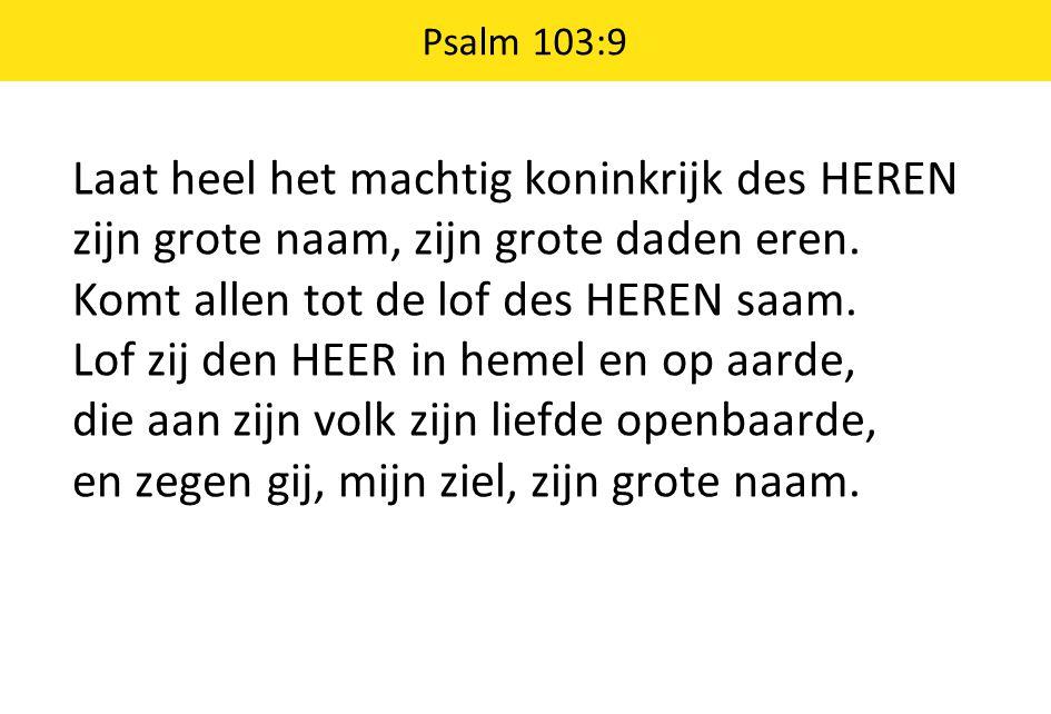 Psalm 103:9