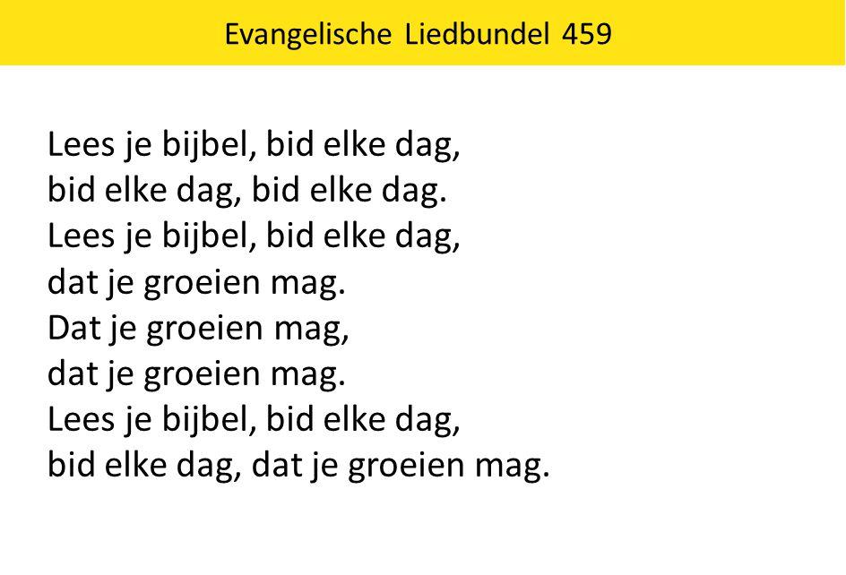 Evangelische Liedbundel 459