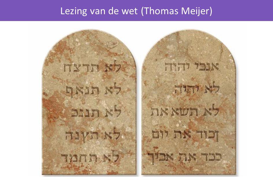 Lezing van de wet (Thomas Meijer)