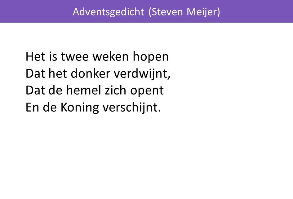 Adventsgedicht (Steven Meijer)