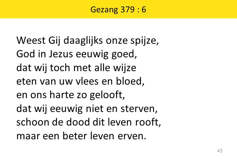 Gezang 379 : 6