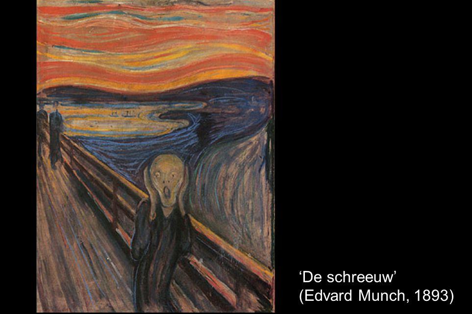 'De schreeuw' (Edvard Munch, 1893)