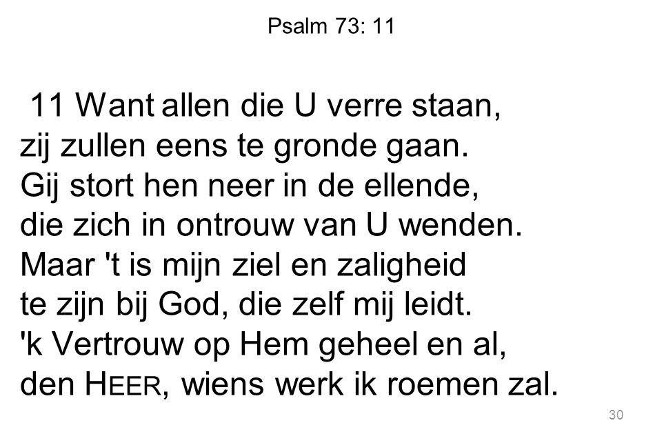 Psalm 73: 11