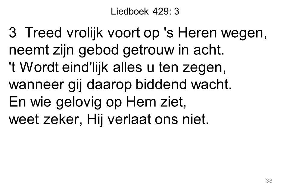 Liedboek 429: 3