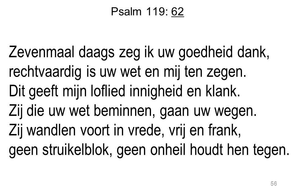 Psalm 119: 62