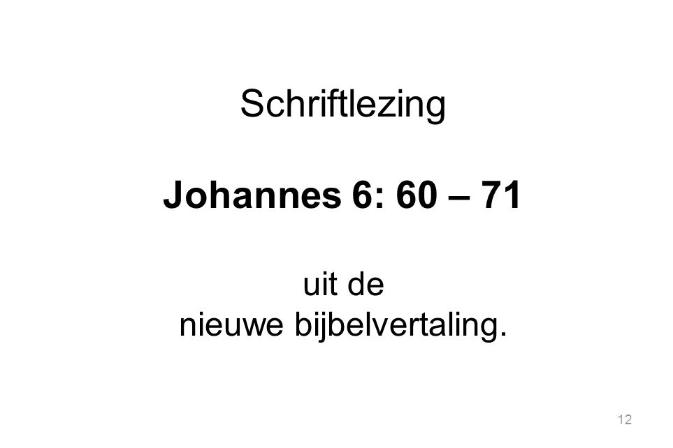 nieuwe bijbelvertaling.