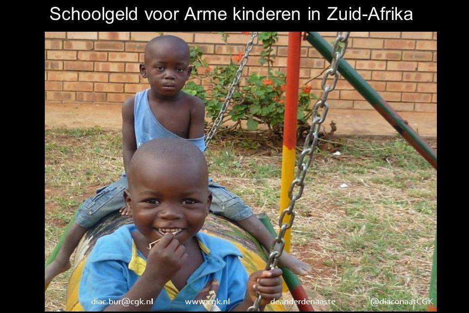 Schoolgeld voor Arme kinderen in Zuid-Afrikad