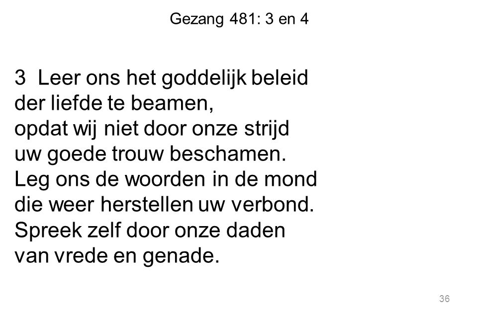 Gezang 481: 3 en 4